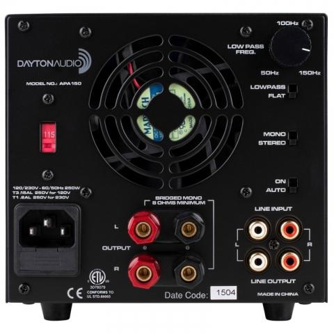 Dayton Audio Amplifier APA 150